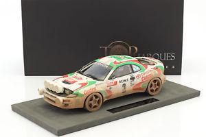【送料無料】模型車 モデルカー スポーツカートヨタセリカグアテマラダーティビジョン#ラリーモンテカルロtoyota celica gt4 dirty vision 3 winner rally monte carlo 1993 auriol,