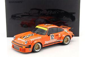 【送料無料】模型車 モデルカー スポーツカーポルシェイェーガーマイスター#porsche 934 jgermeister 12 winner drm eifelrennen 1976 kelleners 112 minicha