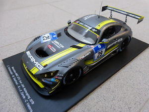 1:43 Spark Mercedes Benz SLS GT3 Team Graff GT Tour 2011 Spa SF 021