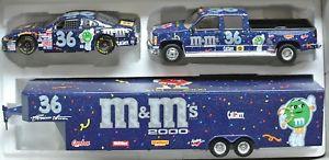 【送料無料】模型車 モデルカー スポーツカー#キャップ#ミレニアムイム36 crew captrailernascar 1999 * mamp;m039;s millenium * ernie irvan 124 lim