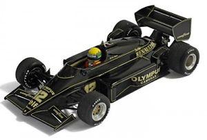 【送料無料】模型車 モデルカー スポーツカーロータスルノーポルトガルアイルトンセナlotus renault 97t n 12 winner gp portugal 1985 ayrton senna