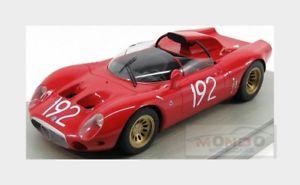 【送料無料】模型車 モデルカー スポーツカーアルファロメオタルガフローリオalfa romeo 332 fleron periscopio targa florio 1967 tecnomodel 118 tm1849d mod