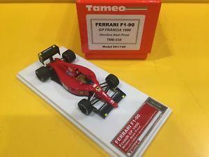 【送料無料】模型車 モデルカー スポーツカーフェラーリプロストグランプリフランスtameo tmb 039ferrari f190 a prost gp france 1990