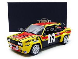 【送料無料】模型車 モデルカー スポーツカートップマルケスフィアットアバルトモンテカルロトップtop marques collectibles 118 fiat 131 abarth monte carlo 1980 top43b