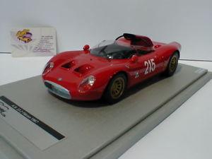 【送料無料】模型車 モデルカー スポーツカーアルファロメオベルギーtecnomodel tm1849e alfa romeo 332 periscorpio fleron belgium 1967 118