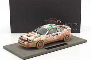 【送料無料】模型車 モデルカー スポーツカートヨタセリカグアテマラダーティビジョン#ラリーサンレモtoyota celica gt4 dirty vision 8 rally winner san remo 1994 auriol occelli 1,