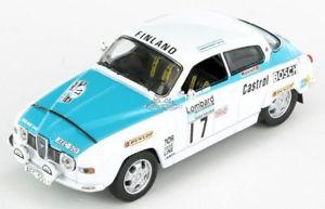 【送料無料】模型車 モデルカー スポーツカー#ラリーモデルsaab 96 v4 17 13th rac rally 1974 t rainiok letho 118 model tecnomodel