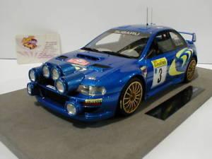 【送料無料】模型車 モデルカー スポーツカートップマルケストップモンテカルロラリーマクレーtop marques top40a subaru imprezza s4 monte carlo rally 1998 c mcrae 118