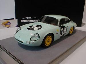 【送料無料】模型車 モデルカー スポーツカーアルファロメオルマン#;ロッソ#tecnomodel tm1871b alfa romeo giulietta sz no 34 le mans 1963 034;rosso034; 118