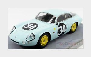 【送料無料】模型車 モデルカー スポーツカーアルファロメオ#ルマンalfa romeo giulietta sz sant ambroeus 34 le mans 1963 tecnomodel 118 tm1871b
