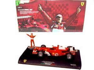 【送料無料】模型車 モデルカー スポーツカーフェラーリミハエルシューマッハモンツァferrari 248 f1 5 michael schumacher gp monza 2006