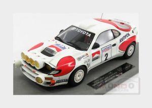 【送料無料】模型車 モデルカー スポーツカートヨタセリカグアテマララリートップモードtoyota celica gt4 st185 2 winner rally rac 1992 topmarques 118 top034bn mode