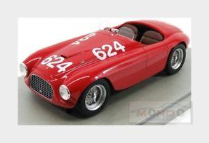 【送料無料】模型車 モデルカー スポーツカーフェラーリクモ#ミッレミリアferrari 166mm 20l spider 624 winner mille miglia 1949 tecnomodel 118 tm1852d