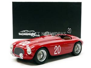 【送料無料】模型車 モデルカー スポーツカーミトスフェラーリスパtecnomodel mythos 118 ferrari 166 mm winner spa 1949tm1852c