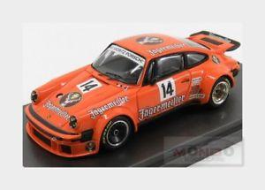 【送料無料】模型車 モデルカー スポーツカーポルシェ#ニュルブルクリンクporsche 911 934 jagermeister 14 eifelrennen nurburgring 1976 mg 143 mad4306 mo