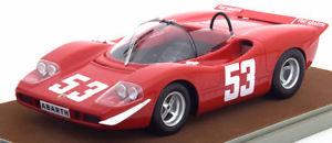 【送料無料】模型車 モデルカー スポーツカーフィアットアバルト#ニュルブルクリンクキロ118 tecnomodel fiat abarth 2000 s 53, winner 1000km nrburgring 1969