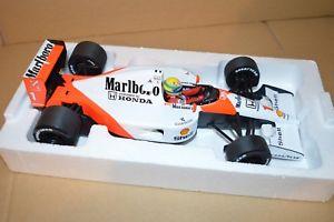 【送料無料】模型車 モデルカー スポーツカーアイルトンセナマクラーレンブランディング1991 ayrton senna mclaren mp46 tobacco branding 118