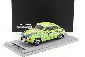 【送料無料】模型車 モデルカー スポーツカー#スウェーデンラリーsaab 96 v4 2 2nd rally sweden 1976 blomqvist, sylvan 118 tecnomodel