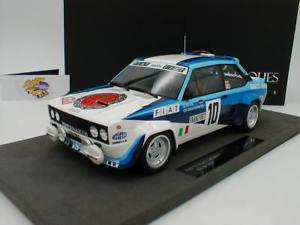 【送料無料】模型車 モデルカー スポーツカートップマルケストップフィアットアバルトモンテカルロラリー##top marques top043c fiat 131 abarth 1980 winner montecarlo rally 034;rhrl034; 118
