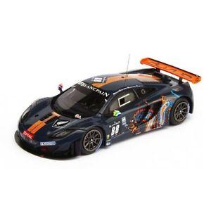 【送料無料】模型車 モデルカー スポーツカーマクラーレングアテマラ#スパモデルmclaren mp412c gt3 88 9th 24h spa 2012 relative wills barff good 1 18 model