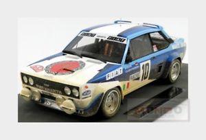 【送料無料】模型車 モデルカー スポーツカーフィアットアバルト#ラリーモンテカルロトップfiat 131 abarth 10 winner rally montecarlo 1980 rohrl topmarques 118 top043cd