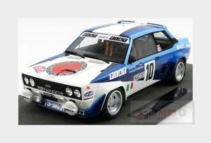 【送料無料】模型車 モデルカー スポーツカーフィアットアバルト#ラリーモンテカルロトップfiat 131 abarth 10 winner rally montecarlo 1980 rohrl topmarques 118 top043c m