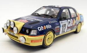 【送料無料】模型車 モデルカー スポーツカーオットースケールフォードシエラコスワースモンテカルロラリーotto 118 scale resin ot732 ford sierra cosworth 4x4 monte carlo 1991 rally