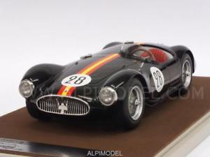 【送料無料】模型車 モデルカー スポーツカーマセラティマセラティ#ルマンドmaserati a6 gcs 28 24h le mans 1954 de portago 118 tecnomodel tm1844a