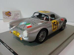 【送料無料】模型車 モデルカー スポーツカーポルシェクーペカレラパナメリカーナtecnomodel tm1832b porsche 550 coupe 154 carrera panamericana 1953 118