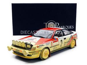 【送料無料】模型車 モデルカー スポーツカートップマルケストヨタモンテカルロラリーtop marques collectibles 118 toyota st 165 winner rallye monte carlo 1991