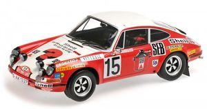 【送料無料】模型車 モデルカー スポーツカーポルシェラリーモンテカルロporsche 911 s 15 rally monte carlo 1972 waldegardthorszelius