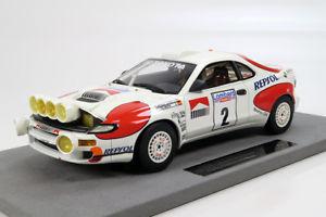 【送料無料】模型車 モデルカー スポーツカートップマルケストヨタセリカグアテマラ#ラリーバージョンtop marques toyota celica gt4 2 sainz winner rac rally 1992 night version 118