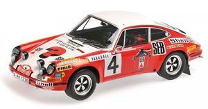 【送料無料】模型車 モデルカー スポーツカーポルシェモンテカルロラリーporsche 911 s no 4 2nd monte carlo rally 1972 larousseperramond