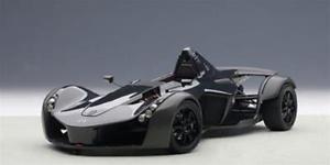 【送料無料】模型車 モデルカー スポーツカーモノロードスターメタリックブラックモデル