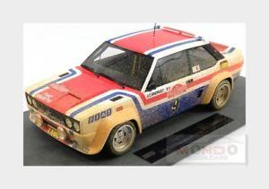 【送料無料】模型車 モデルカー スポーツカーフィアットアバルト#ラリーサンレモトップfiat 131 abarth 9 winner rally sanremo 1977 andruet topmarques 118 top043ad mo