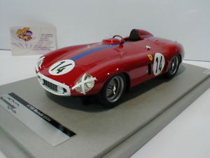 【送料無料】模型車 モデルカー スポーツカーフェラーリモンツァルマングレゴリーtecnomodel tm1846a ferrari f750 monza no14 24h lemans 1955 gregory 118