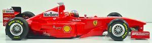 【送料無料】模型車 モデルカー スポーツカーミハエルシューマッハフェラーリフルカラーリング1998 michael schumacher msc ferrari 118 full livery