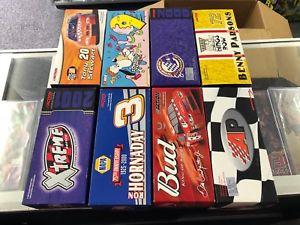 【送料無料】模型車 モデルカー スポーツカーアクショングッズnascar action collectibles limited edition 124 lot of 8 w boxes earnhardt