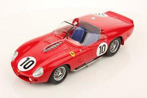 【送料無料】模型車 モデルカー スポーツカーフェラーリ#ルマンヒルferrari tr61 10 winner 24h le mans 1961 gendebien hill looksmart 118 ls18lm03