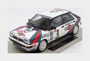 【送料無料】模型車 モデルカー スポーツカーランチアデルタマティーニ#ラリーモンテカルロトップlancia delta 4wd martini 3 winner rally montecarlo 1988 topmarques 118 top024c