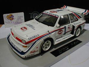 【送料無料】模型車 モデルカー スポーツカートップマルケストップアウディスポーツクワトロパイクスピークtop marques top29  audi sport quattro s1 1 winner pikes peak 1986 118