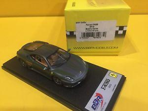 【送料無料】模型車 モデルカー スポーツカーモデルフェラーリbbr models bbr164bvferrari f430 2012 green beast