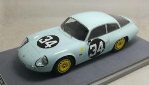 【送料無料】模型車 モデルカー スポーツカーアルファロメオ#リタイアサラロッシモデルalfa romeo giulietta sz 34 dnf lm 1963 g salar rossi 118 model tecnomodel