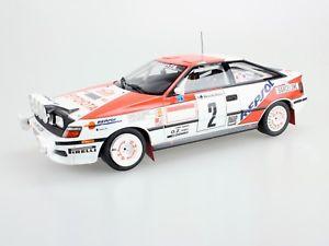 【送料無料】模型車 モデルカー スポーツカートップマルケストヨタセリカ#サインツモヤモンテカルロtop marques toyota celica st 165 2 sainzmoya montecarlo winner 1991 118