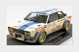 【送料無料】模型車 モデルカー スポーツカーフィアットアバルト#ラリートップfiat 131 abarth 1 winner rally 1000 lakes 1980 m alen topmarques 118 top043ed