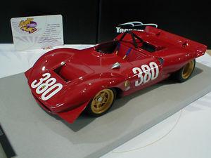 【送料無料】模型車 モデルカー スポーツカーフェラーリディノ#tecnomodel tm1837a ferrari dino 212e 380 cesanasestriere 1969 schetty 118