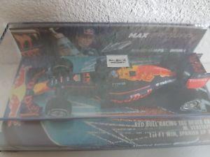 【送料無料】模型車 モデルカー スポーツカーレッドブルスペインズm verstappen red bull rb12 winner spain ed5 143 ltd 4232500