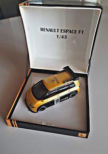 【送料無料】模型車 モデルカー スポーツカールノーエスパスrenault espace f1 143