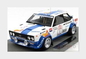 【送料無料】模型車 モデルカー スポーツカーフィアットアバルト#ラリートップfiat 131 abarth 1 winner rally 1000 lakes 1980 m alen topmarques 118 top043e