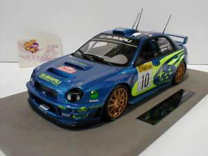 【送料無料】模型車 モデルカー スポーツカートップマルケストップモンテカルロラリーtop marques top37a subaru imprezza s7 wrc rallye monte carlo 2002 mkinen 118